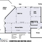 Visual Arts Wing Map