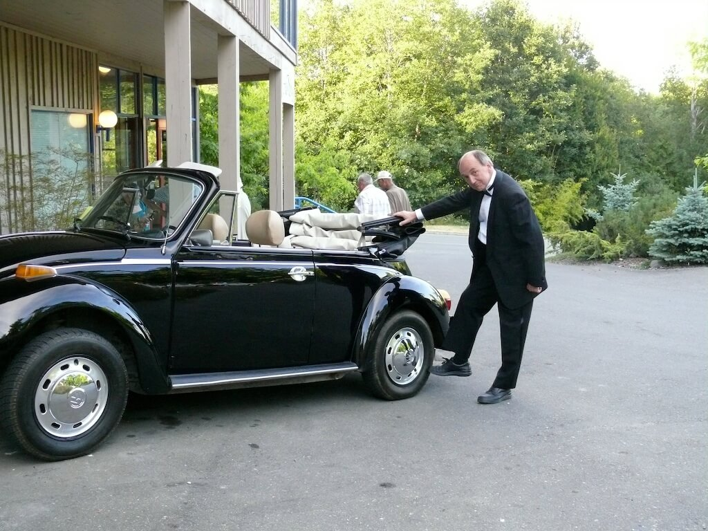 George and Car