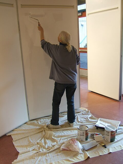 Painting the Gallery - Judy II