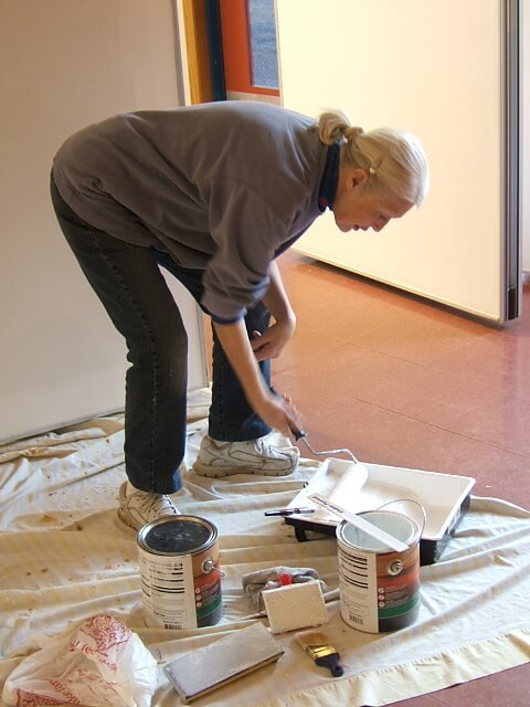 Painting the Gallery - Judy