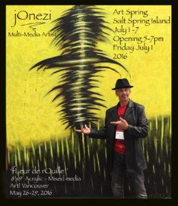 Jonezi & 'Fleur de Rouille' Art Spring Promo Flattened
