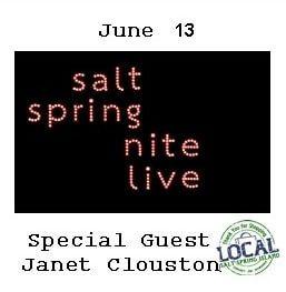 Salt Spring Nite Live